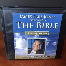 The Bible James Earl Jones Reads Audio Book CD King James Version New Testament
