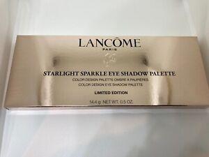Lancome Paris Starlight Sparkle Eyeshadow Color Design Palette Limited Edition
