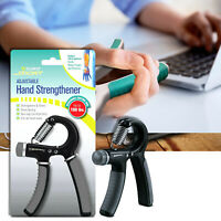 Aduro Sport Hand Grip Strengthener Workout with Resistance Range 10-100 lbs New