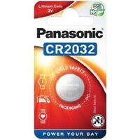 Piles/Cells boutons CR2032 de marque Panasonic, livraison rapide et gratuite