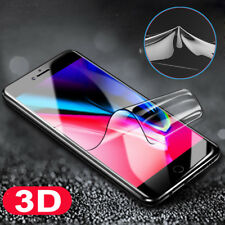 3D Clear Front+Rear Screen Protector Soft Nano FullCover Film for iPhone X 8Plus