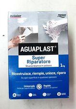 Beissier aguaplast super riparatore stucco bianco polvere 1 Kg riempe ovunque