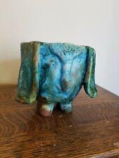 Vintage Art Pottery Elephant