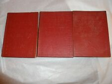 1924 Audels Masons And Builders Guide, Volumes 1,2, & 4 Red Covers D8