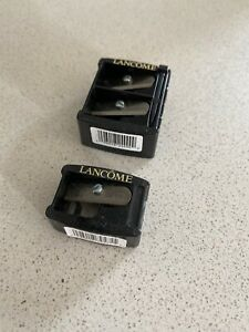 Lancome Pencil Sharpener with 2 Holes Large Small & Single Hole Brand New