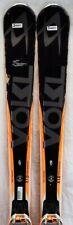 14-15 Volkl RTM 81 Used Men's Demo Skis w/Bindings Size 171cm #346911