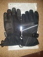 Mens Andake Ski Gloves Size Medium Black