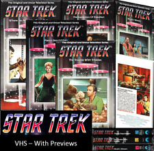 Star Trek Classic VHS with Preview (Black Case) - Sealed New