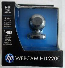 HP Webcam HD-2200 720p USB NEW