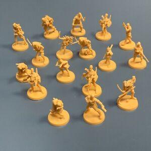 Random 5x Survivor Heroes Miniatures Zombicide 2nd Board Game Figures Toys Rare