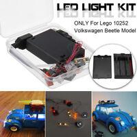 LED Light Lighting Kit ONLY For Lego 10252 Volkswagen Beetle Model Bricks 21003