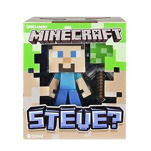 Minecraft Spin Master  Vinyl Figur Steve  Lizenzware (15 cm) NEU&OVP