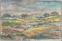 IMPRESSIONIST ENGLISH LANDSCAPE Watercolour Painting MARCUS ADAMS c1930