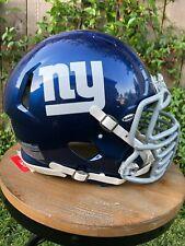 New York Giants Authentic Riddell Revolution Speed Football Helmet & Facemask