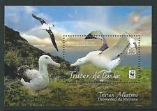 TRISTAN DA CUNHA SGMS1067 2013 WWF BIRDS  MNH