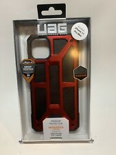 Urban Armor Gear UAG Monarch Case for Apple iPhone 11 Pro Max (Red/Black)