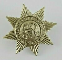 The Middlesex Yeomanry George V GRV WW1 Die Stamped cap badge - 2 Lugs to Rear