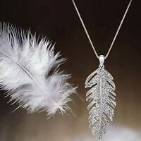 Boho Liebe Feder Flügel Elegant Damen Kette Anhänger Halskette zONwl ewDkc flYfE