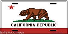 California Republic License Plate - 3209