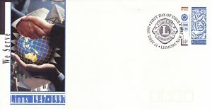 Australia Post - First Day Cover - FDC - 1997 - Lions 1947 to 1997 - We Serve