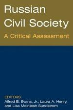 Russian Civil Society : A Critical Assessment (2005, Paperback)