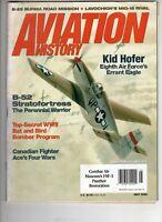 Aviation History Magazine May 2005 Kid Hofer Errant Eagle B-52 Lavochkin Mig-15