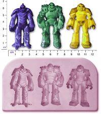 Transformers Robot X 3 GRANDE Craft Sugarcraft Stampo SAPONE FIMO
