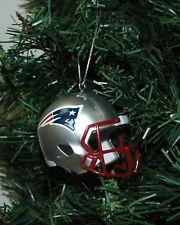 New England Patroits Football Helmet Christmas Ornament