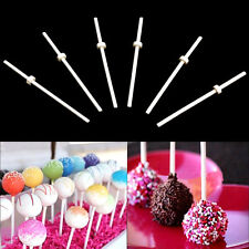 30Pcs Pop Food Sucker Lollipop Sticks Sweet Candy Cookie Chocolate Cake Maker