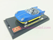 1:43 ACE Car Model Buckle Motors Goggomobil Dart 1959 - 1961 Top Blue Low Yellow