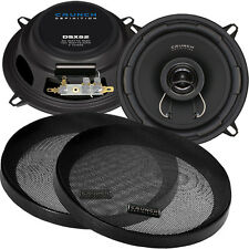 Crunch DSX 52 2 Weg 13cm Koax flach Lautsprecher Paar