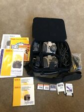Lot Of 2 Kodak DC260 Zoom Cameras w/ Case & 3 Compact Flash Cards (2-256, 15 MB)
