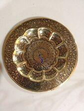 Peacock design favor 5.25 inch plate