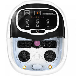 Heated Foot Bath Spa Portable With Massage Rollers And Red Light Therapy Multi
