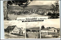 SCHMIEDEFELD Rennsteig Thüringen DDR Mehrbild-AK 1971 Gesamtansicht Häuser uvm.
