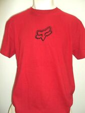 NEW FOX RACING RIDERS V4 RED TEE MEN'S LARGE TEE T SHIRT code H117