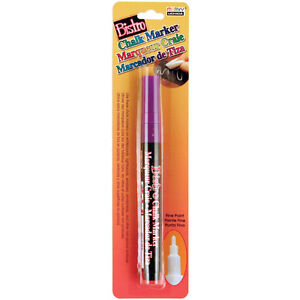 Bistro Chalk Marker Fine Point 1/Pkg-Fluorescent Violet Marvy