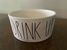 "New listing Rae Dunn Dog Bowl Dish - ""Drink Up�"