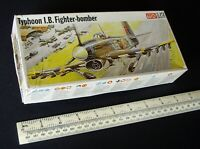 Vintage 1970s Hawker Typhoon Fighter Bomber 1:72 Scale Frog Kit. Boxed. (#2)