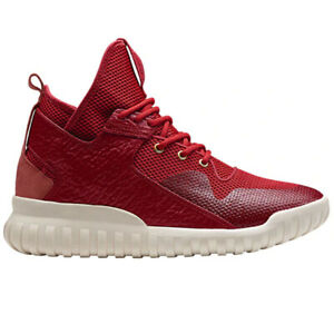 Adidas Mens Tubular X Chinese New Year Sneakers AQ2548 Red/Gold/Wht