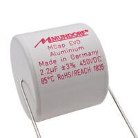 Mundorf MCap ME EVO 2,2uF 450V High End Audio Kondensator capacitor 853748