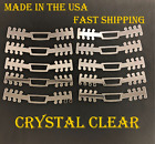 10 Acrylic Ear Savers Ear Strap Face Mask Adjustable Extension Hook Made in USA