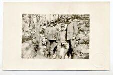 La Guerra d'Italia Militari in divisa Vera Foto Firenze PC Circa 1915 WWI ITALY