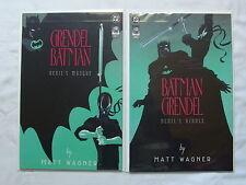 Batman / Grendel: Devil's Riddle #1 &  Devil's Masque (Jan 1993, DC)
