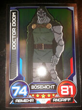 Hero Attax 2014 Marvel Mirror - Foil - Karte Nr. 33 Doctor Doom Sammelkarte