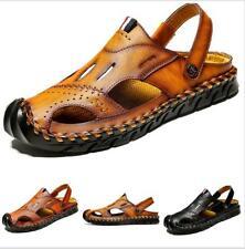 Sandals Shoes Men Close Toe Flats Hollow Out Sneaker Casuals Sport Comfort Trail