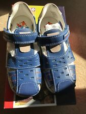 Pablosky Blue School Sandals Shoes Size UK 12.5 Euro 31 BNIB