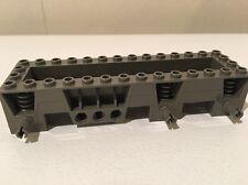 LEGO Car Base 4 x 14 x 2⅓ (#30642) - Dark Gray - Lego 14x4