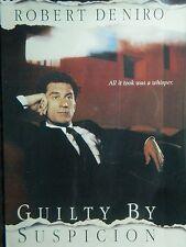 Irwin Winkler's GUILTY BY SUSPICION (1991) Robert De Niro Annette Bening SEALED