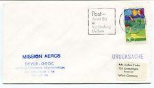 1974 Mission Aeros DFVLR-GSOC Zentrale Deutsche Bodenstation Drucksache SPACE